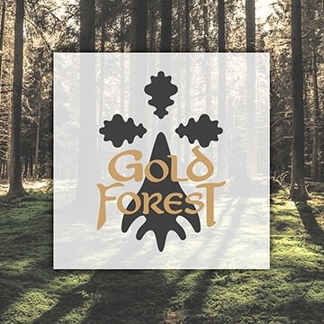 Logo design Gold Forest