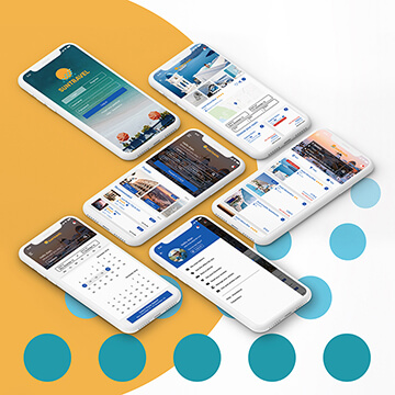 UI UX Design App Interface Suntravel