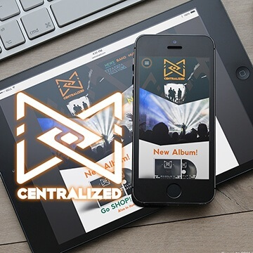 Webdesign site web logo design Centralized